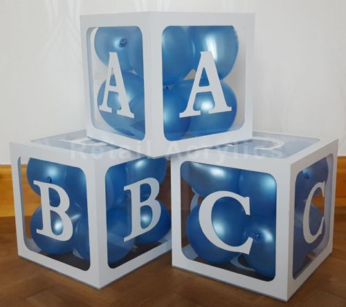 ABC Blocks Acrylic boxes - Large